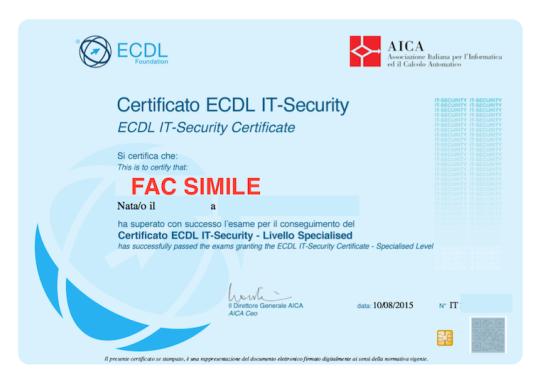 Certificazione IT Security
