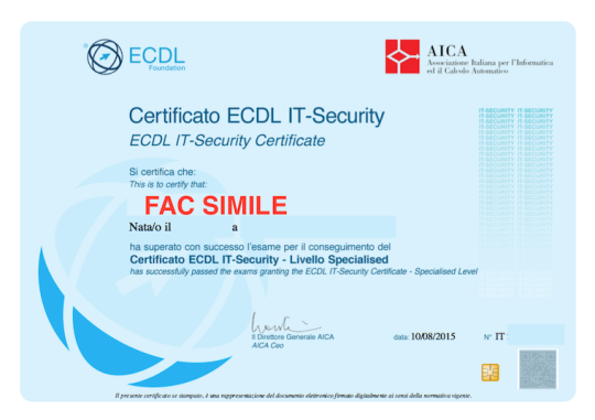 Certificazione IT Security